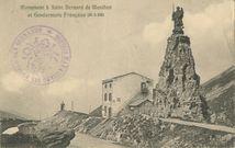 Monument à Saint Bernard de Menthon et Gendarmerie Française (alt. m. 2153) |
