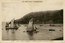 L'Entrée du Port et la Falaise de Cesson |