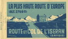 LA PLUS HAUTE ROUTE D'EUROPE (ALT. 2769 m) |