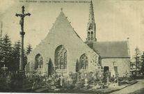 Abside de l'Eglise - Environs de Quimper |