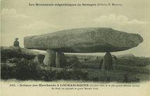 Dolmen des Marchands à LOCMARIAQUER (Le plus beau et le plus grand dolmen connu)  