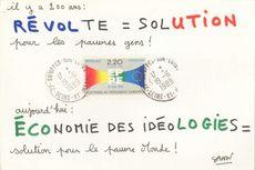 il y a 200 ans: REVOLTE = SOLUTION pour les pauvres gens !   Savon