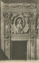 Panneau de la Maison François Ier (Gabrielle d'Estrées) |