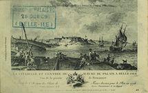 Belle-Isle-en-Mer- L'entrée du port en 1776 | Le GOUAZ