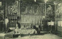 Le Château de Keriolet - La salle des Gardes - Les tapisseries des Gobelins |