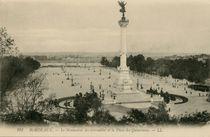 Le Monument des Girondins et la Place des Quinconces |