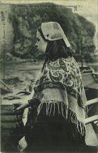Jeune fille de l'Ile d'Ouessant |