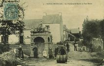 La Fontaine St-Martin et Rue Haute |