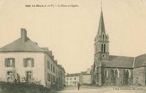 La Place et l'Eglise  