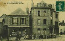 Place de l'Eglise et Magasin Trochu |