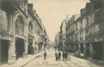 Le Casino et la Rue de l'Etape | Neurdein