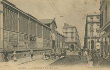 Le Marché et la Rue de la Lyre |