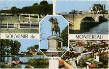 Souvenir de MONTEREAU | Combier IMP