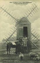 Un Moulin à Vent à l'Ile d'Ouessant |