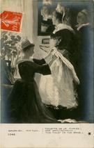 TOILETTE DE LA MARIEE DER BRAUTSCHMUCK THE TOILET OF THE BRIDE   Tuck (Mlle) M.