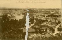 Vue prise du Fort de Beauregard | Leroux Ch.