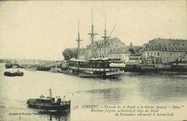 Caserne du 3e Dépôt et le Navire Amiral &quot |