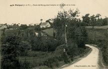 Route de Bourg-des-Comptes et Chapelle de la Croix |