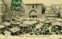 Marché place de la Haute Vieille Tour |