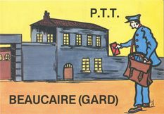 La poste de... Beaucaire | Lardie Jacques