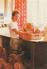 M. Sudrat, boulanger, Coussac-Bonneval (87) | Batillot Pierre