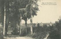 Vue prise de la route de Marpiré  