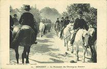 BENODET - La Procession des Chevaux au Drennec |