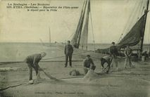 Réparation des Filets avant le départ pour la Pêche | Bocquenet