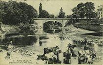L'Abreuvoir et le Pont Neuf  