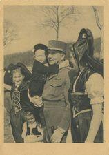 LE GENERAL DE LATTRE EN ALSACE, MARS 1945. | Braun & Cie