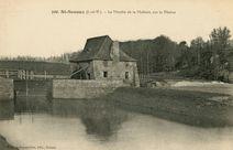 Le Moulin de la Molière, sur la Vilaine |
