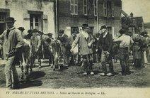 Scènes de Marché en Bretagne |