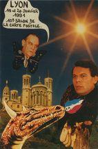 19 et 20 JANVIER 1991 10e SALON DE LA CARTE POSTALE | Lardie Jacques
