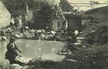 Lavoir et Fontaine de la Clarté, à Baud |