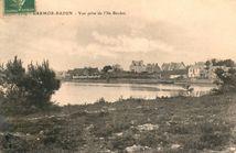 Vue prise de l'Ile Berder |