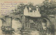 Le Moulin du Vieux Pont en 1860 |