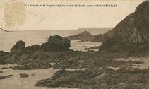 Le Rocher de la Rognouse et le Corps-de-Garde entre BINIC et ETABLES |