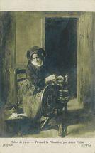 Périnaïk la Filandière, par Alexis Vollon | Vollon Alexis