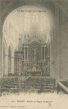 Retable de l'Eglise St-Sauveur |