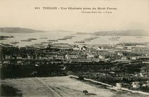 Vue Générale prise du Mont Faron |