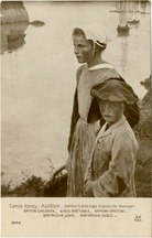 ENFANTS BRETONS A DOUELAN (Morbihan) BRITON CHILDREN NINOS BRETONES BAMBINI BRETONI | Leroux A.
