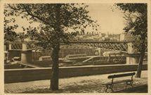 Le pont tournant vu du boulevard Thiers |