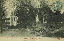 Square et Statue de Brizeux |