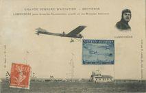 LABOUCHERE passe devant les Commissaires sportifs sur son Monoplan Antoinette |