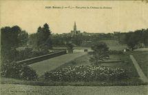 Vue prise du Château du Brossay |