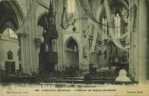L'Intérieur de l'Eglise paroissiale | Bocquenet