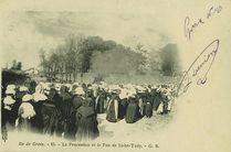 La Procession et le Feu de Saint-Tudy | G.b