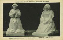 Faïencerie d'Art Breton, Henriot, Quimper |
