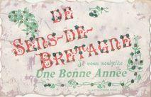 DE SENS-DE-BRETAGNE Je vous souhaite Une Bonne Année |