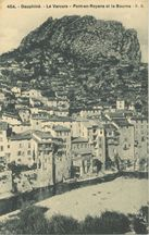 Pont-en-Royans et la Bourne  